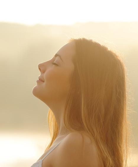 Woman-relaxing