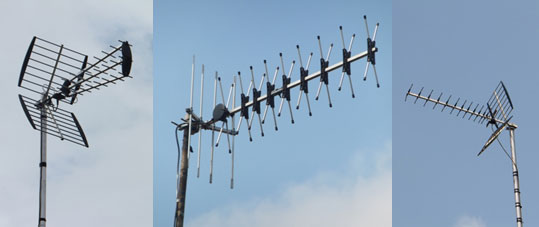 Wideband-aerials