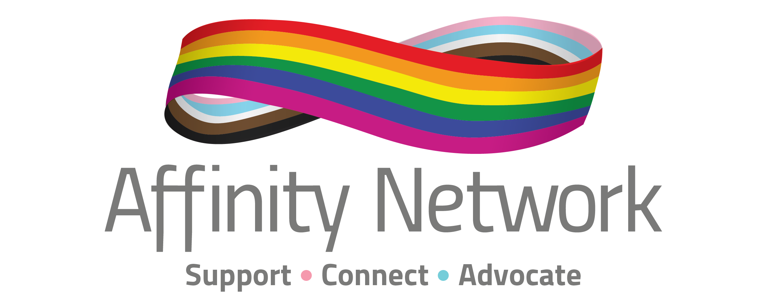 Logo - Affinity Network. Support. Connect. Advocate.