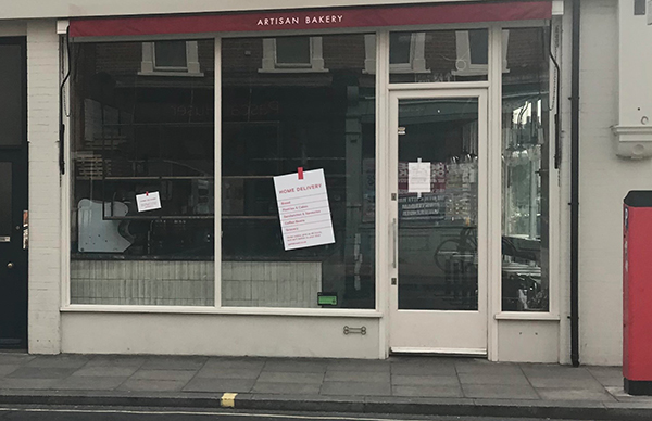 A bakery in south west London was another source of interference