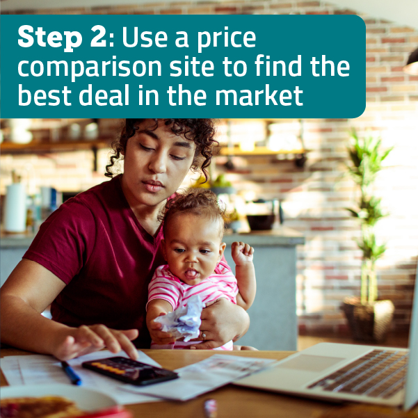 You can then use a price comparison site to find the best available deal.