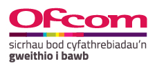 Ofcom logo in Welsh RGB 300dpi