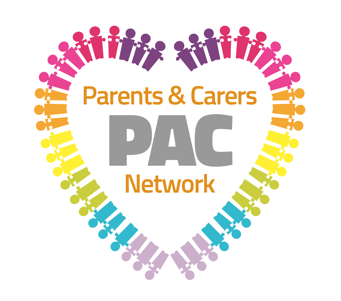 Logo for the Parent and Carers Network