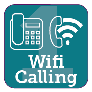 Use your landline or wifi calls if you can